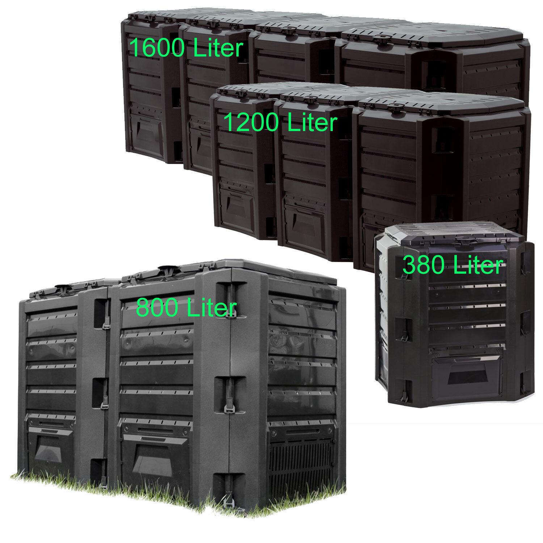 Komposter Gartenkomposter Thermokomposter Schnellkomposter Bio 420 bis 880L