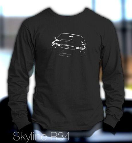 New Skyline GTR R34 Long Sleeve Shirt