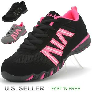 Girl S Casual Sneaker Athletic Tennis Shoes Walking Running Lace Up