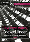 Grade C Booster Workbook: Edexcel Linear (A) by HarperCollins Publishers (Paperback, 2010)