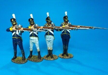 John Jenkins Designs PORT-09N Peninsular War Portuguese Line Infantry Firing