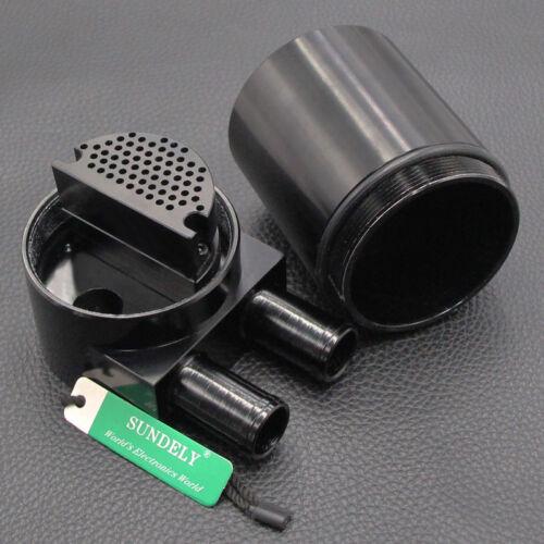 Billet Aluminium Oil Catch Can Reservoir Baffled for BMW N54 335i 535i Black