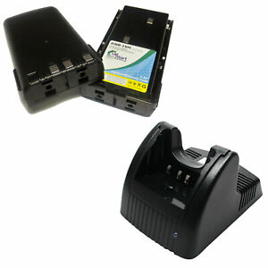 2x-Battery-Charger-for-Kenwood-KNB-14-TK-278-TK-370-TK-372G-TK-3102-TK-373