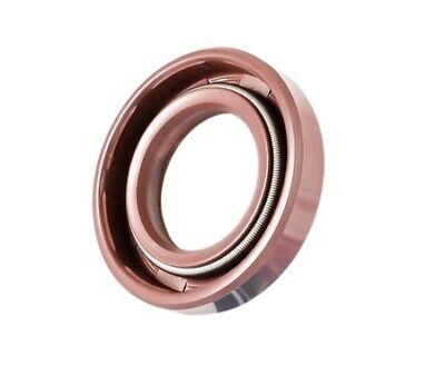 EAI VITON Metric Oil Shaft Seal 22x40x7mm Dust Grease TC Double Lip w// Spring