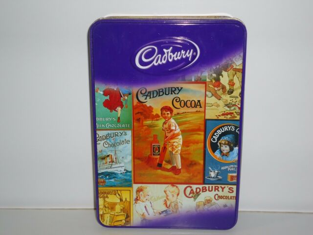 T544 Collectable Cadbury Empty Dairy Milk Chocolate Empty Tin
