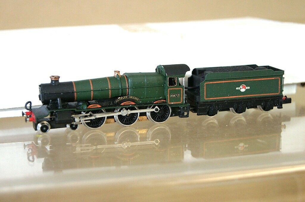Graham Farish 1656 Kit Montado Granja Class Loco 6872 Crawley Maravilloso Mz