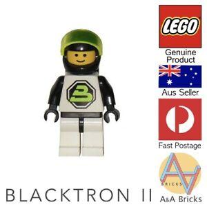 Genuine-LEGO-Minifigure-Space-Blacktron-II-sp002-RARE-amp-RETIRED