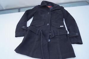 buy online c6f30 ab74c Details zu schicke BUFFALO Damen Winter Jacke Trenchcoat Mantel Kurzmantel  m Gürtel Gr.34