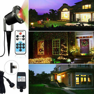 Mobile jardin led lumi res laser projecteur int rieur ext rieur no l f te ebay for Lumiere noel exterieur projecteur
