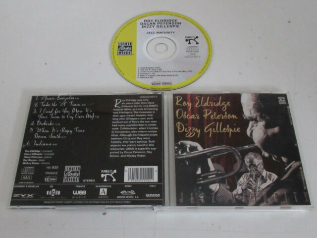 Roy Eldridge, Oscar Peterson, Dizzy Gillespie ‎– Jazz Maturity  /OJCCD 807-2