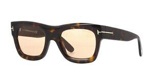 1240cc3265 Tom Ford WAGNER-02 FT 0558 dark havana light brown (52E) Sunglasses ...
