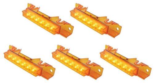 VNL Volvo VN x5 VHD Amber LED Cab Marker Lights Amber Lens 37593