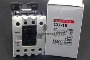 TECO CU-18 220VAC contactor