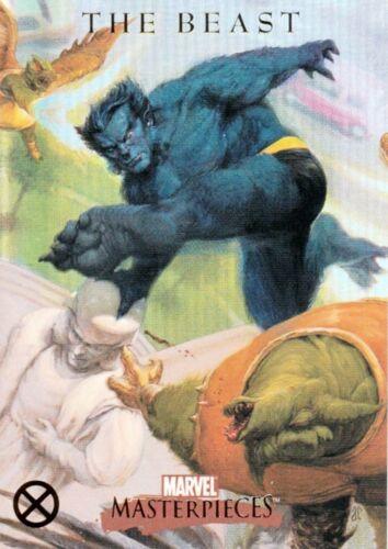 MARVEL MASTERPIECES 2007 U.D U PICK SINGLE X-MEN FOIL PARALLEL INSERT CARDS X1