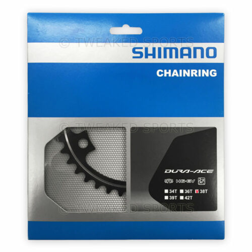 Shimano Dura-Ace FC-9000 Replacement Inner Chainring MC-Type 110 BCD x 38T Black