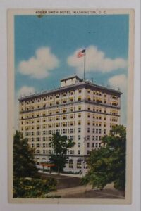 1951-Roger-Smith-Hotel-Linen-Washington-DC-Postcard-District-of-Columbia