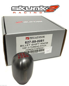 Details about Skunk2 Weighted Shift Knob 6-Speed Honda/Acura 100% Genuine  440grams 627-99-0081