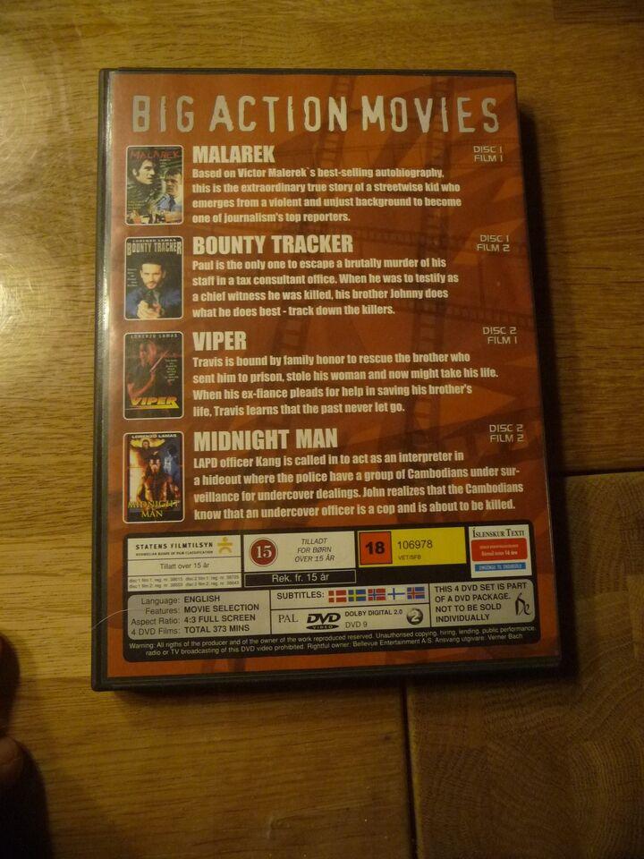 Malarek - Viper - Midnight Man, DVD, action