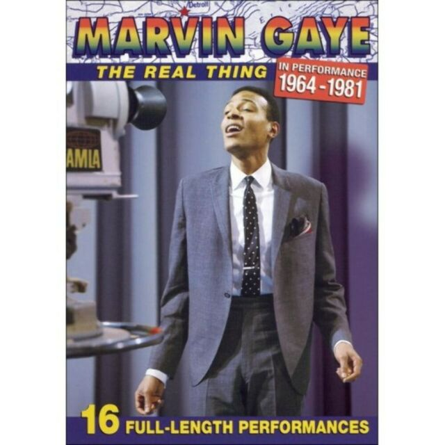 Marvin Gaye the Real Thing in Performance — 5