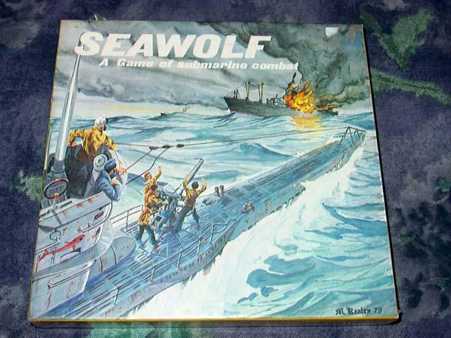 Grenadier Models  7003 - SEAWOLF - A Game of Submarine Combat     (SEALED)