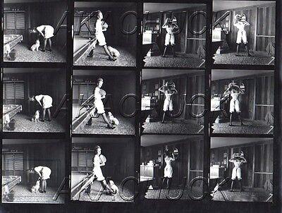 Topless Ballet w Clown HENDRICKSON Negative Photograph