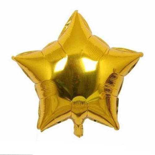5Pc//Lot Pentagram Foil Helium Balloons Wedding Supply Party Birthday Decor NEW