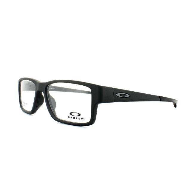 9d4e7958a7e Oakley Airdrop MNP Ox8121 01 Satin Black Brille Eyeglasses Frames ...