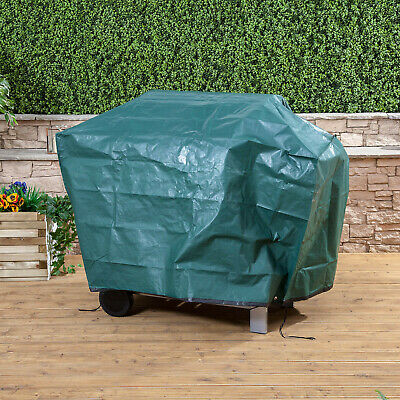Large Green BBQ Cover Waterproof Garden Heavy Duty Barbecue Grill Protector