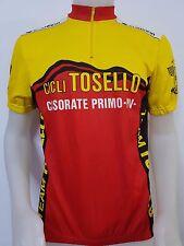 MAGLIA SHIRT CICLISMO CICLI TEAM TOSELLO CASORATE PRIMO TG.XL CYCLING BIKE ES148