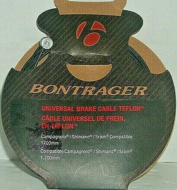 """Universal Road /& Mountain Brake Cable and Teflon lined Housing 60/"""" x 65/"""""""