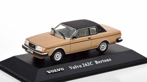 1:43 atlas volvo Collection volvo 262c bertone oro metalizado//flatblack