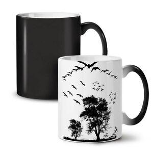 Bird Freedom Fly NEW Colour Changing Tea Coffee Mug 11 oz | Wellcoda