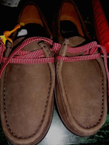 6m Oxfords Size New Fitflops Micro No Dark Brown Wobbleboard Box Suede Womens zzaYx8