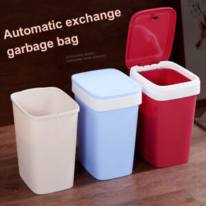 Brief Pressing Type Trash Can Bag Easy Change Garbage Can