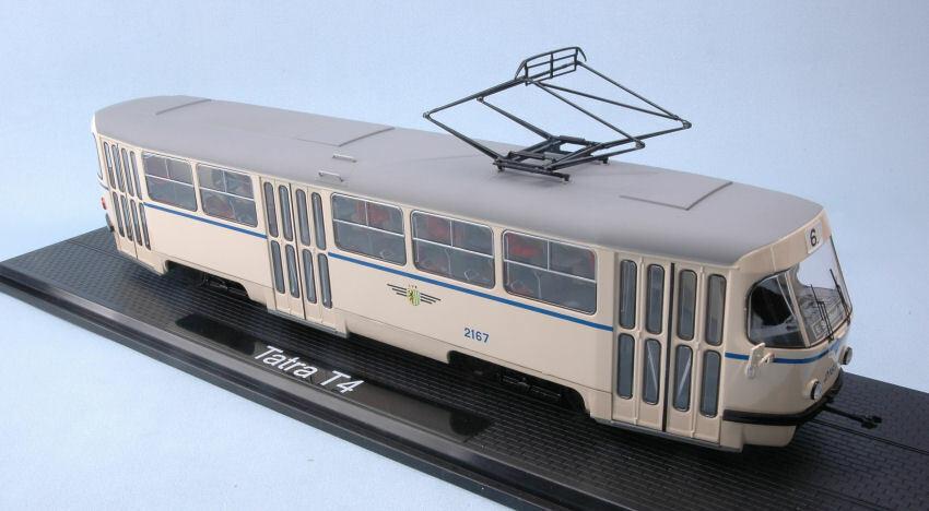 Tatra T4 Leipziger Transport Service Tram 1 43 modello modello modello PREMIUM classeIXXS 477843