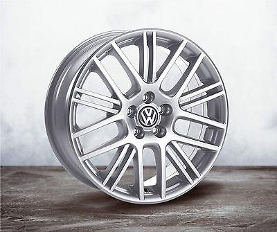 VW Exor STP 17-inch Rim Set silver Golf 4 Bora Polo 9N Fox