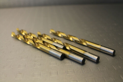 HSS - gehärtet B# 5 x Bohrer Titan 8 mm metalbohrer