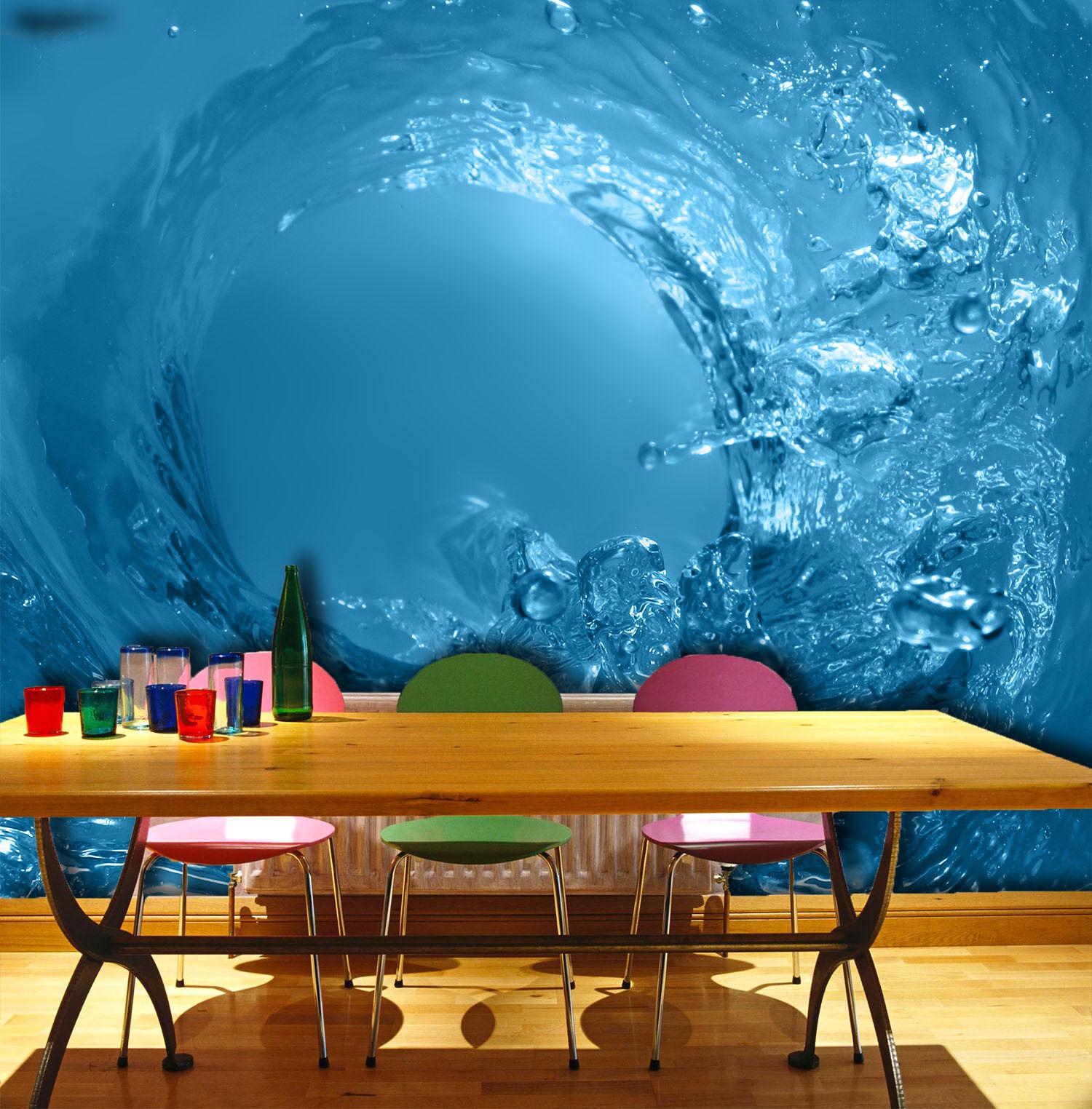 3D Bule Water Lake Wall Paper Wall Print Decal Wall AJ WALLPAPER CA