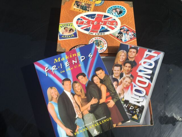 Friends The One With The Whole London Wedding (VHS, 1999) With Collectors Book