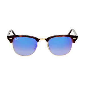 c428340e5d sweden image is loading ray ban clubmaster acetate frame blue lens  sunglasses dc3d0 392ed