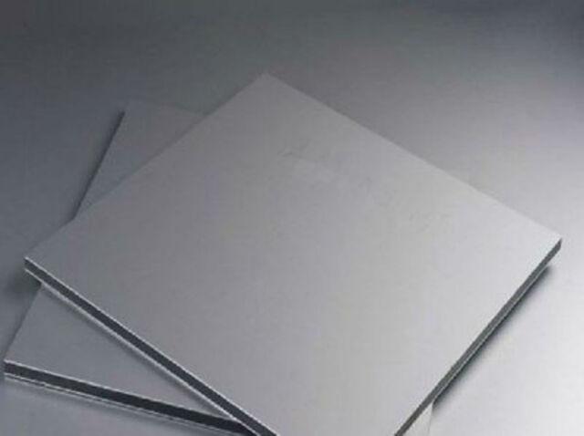 Titanium Ti Titan Gr.2 ASTM B265 Thin Plate Sheet Foil 0.5 x 100 x 100 mm EW8-32