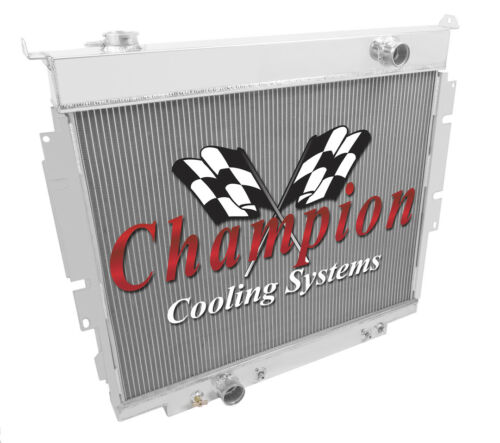 3 Row Rockin Champion Radiator for 1983-1994 Ford F-Series Pickups V8 Engine