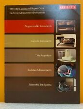 Keithley Instruments 1985 1986 Catalog Amp Buyers Guide