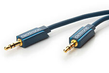 1m Clicktronic Casual MP3-Audiokabel 3,5 mm Klinken-Stecker//3,5 mm Klinken-Stec