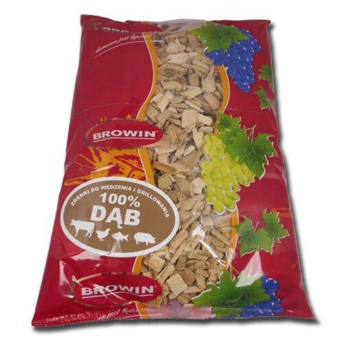 0.9 kg Oak Wood 900 g chips pour fumer et Bbq nourriture 900 g Free Rapide p/&p UK