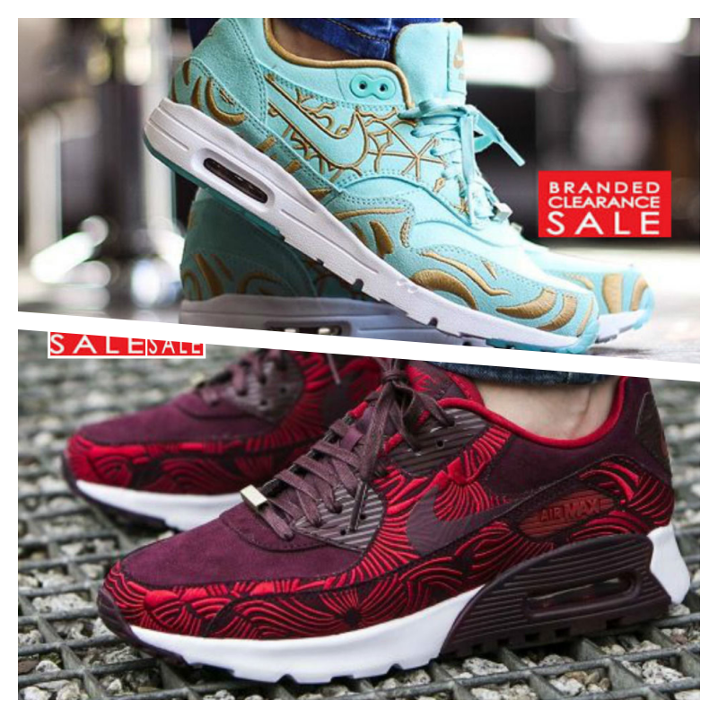 New damen Nike Air Max 90 Ultra LOTC rot Shanghai Paris Grün Größe 3 4 5 6 7 uk