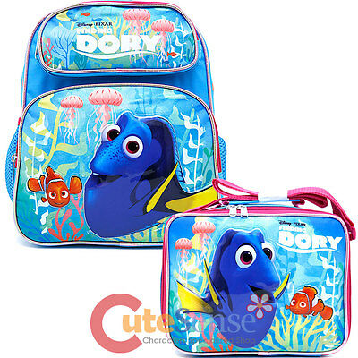 Pink Coral Finding Dory School Lunch Bag Insulated Snack Nemo Bag