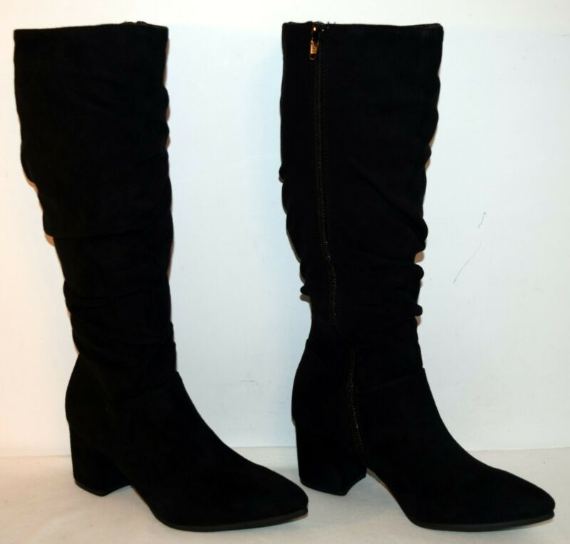 Adroit Seven Dials Norbury Tall Slouch Boots Black Women's Size 8.5 M New More Discounts Surprises