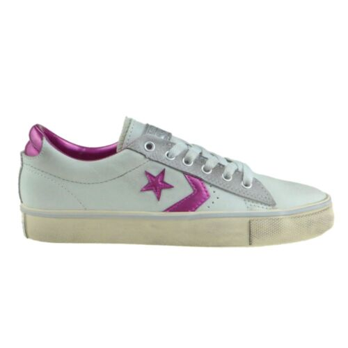 "CONVERSE Scarpe DONNA Shoes ""Pro Leather Vulc Ox"" Classic WH-MTP Originali NUOVE"
