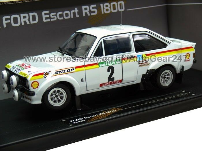 Ford escort rs1800 zweite rallye de portugal 1977 1,18 modell limited edition